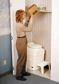 Spacesaver Composting Toilet