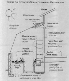 Greywater Solar Greenhouse